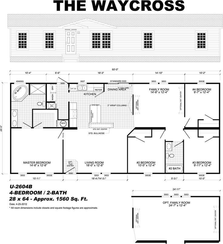 Monster Mansion Mobile Home Floor Plan Http Www Waynefrierofpensacola Com U 2604b Home Plans