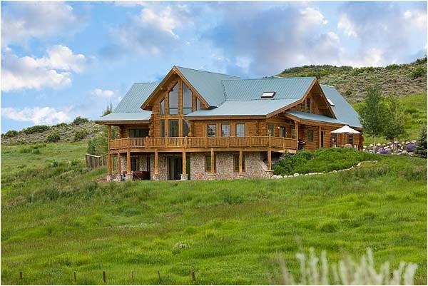 montana log home plans