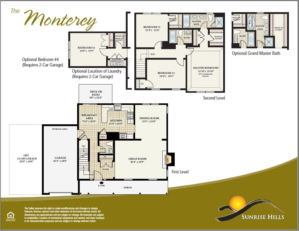 Monterey Homes Floor Plans Middletown Ny New Home Floor Plans orange County New