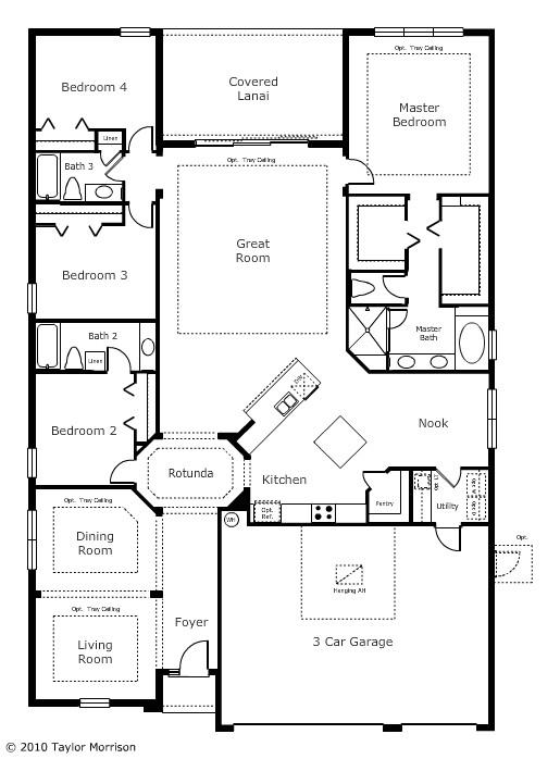 morrison homes floor plans