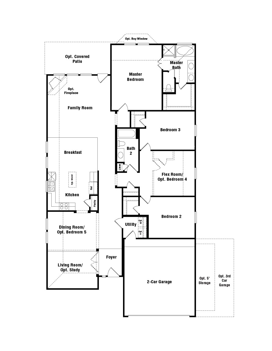 taylor morrison homes laurel floor plan