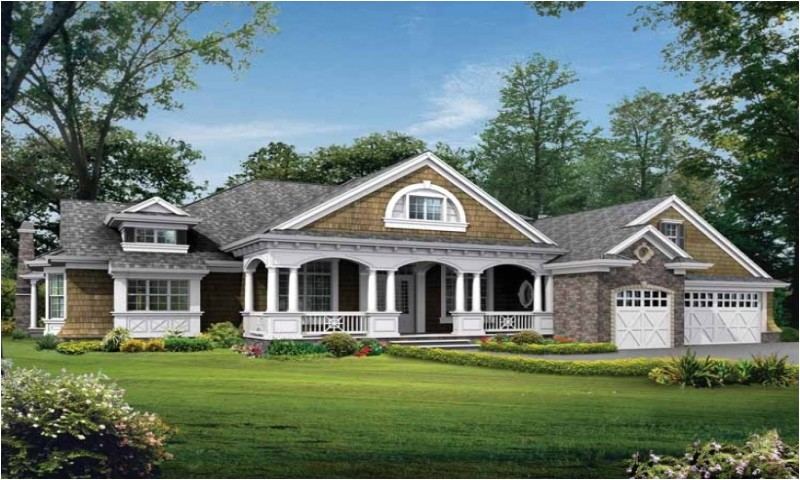 ddee1427ceca6cf9 one story craftsman style house plans one story craftsman style home elevations