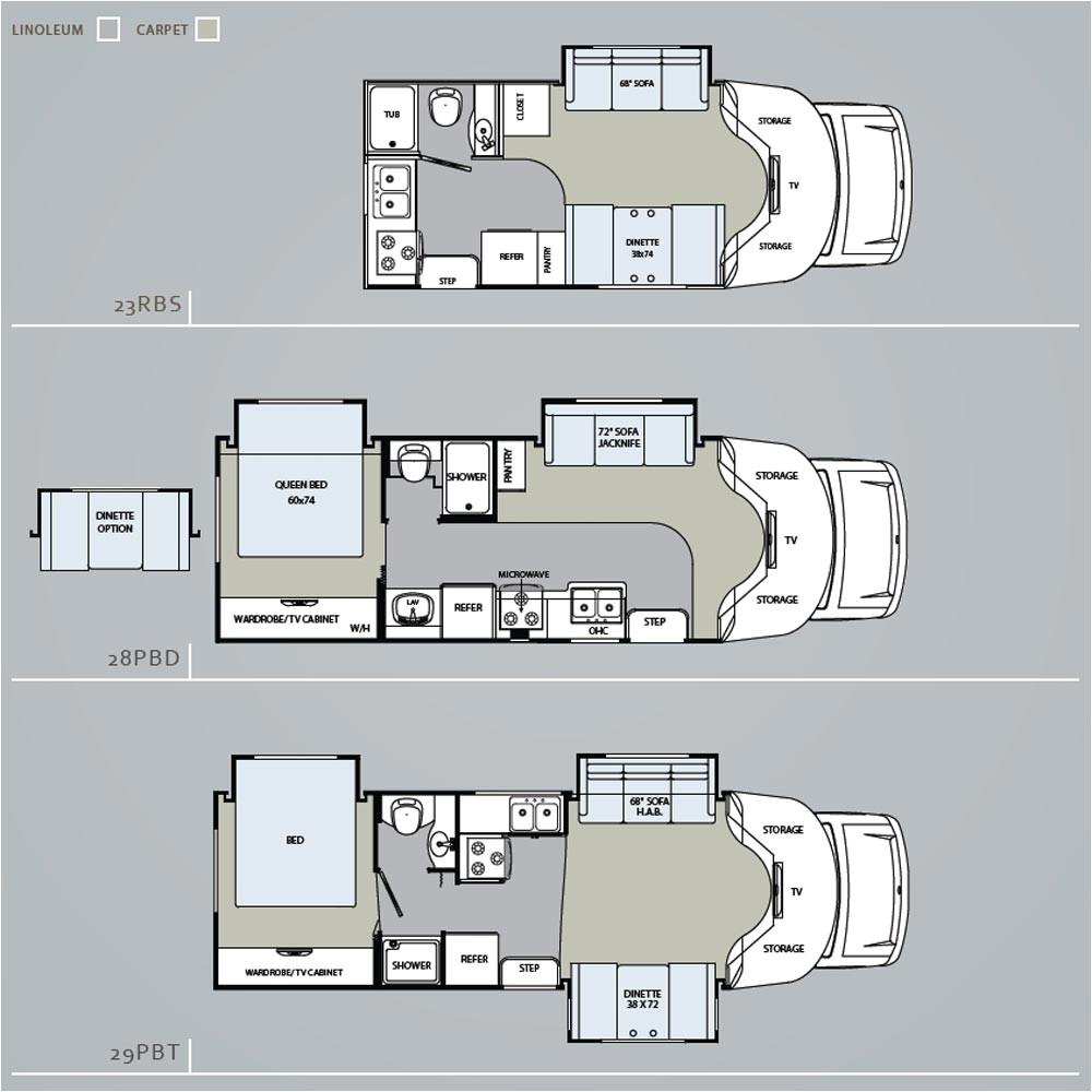 rv floor plans