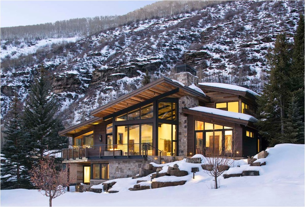 luxury mountain homes colorado exterior rustic with mountain contemporary mountain house contemporary design 6