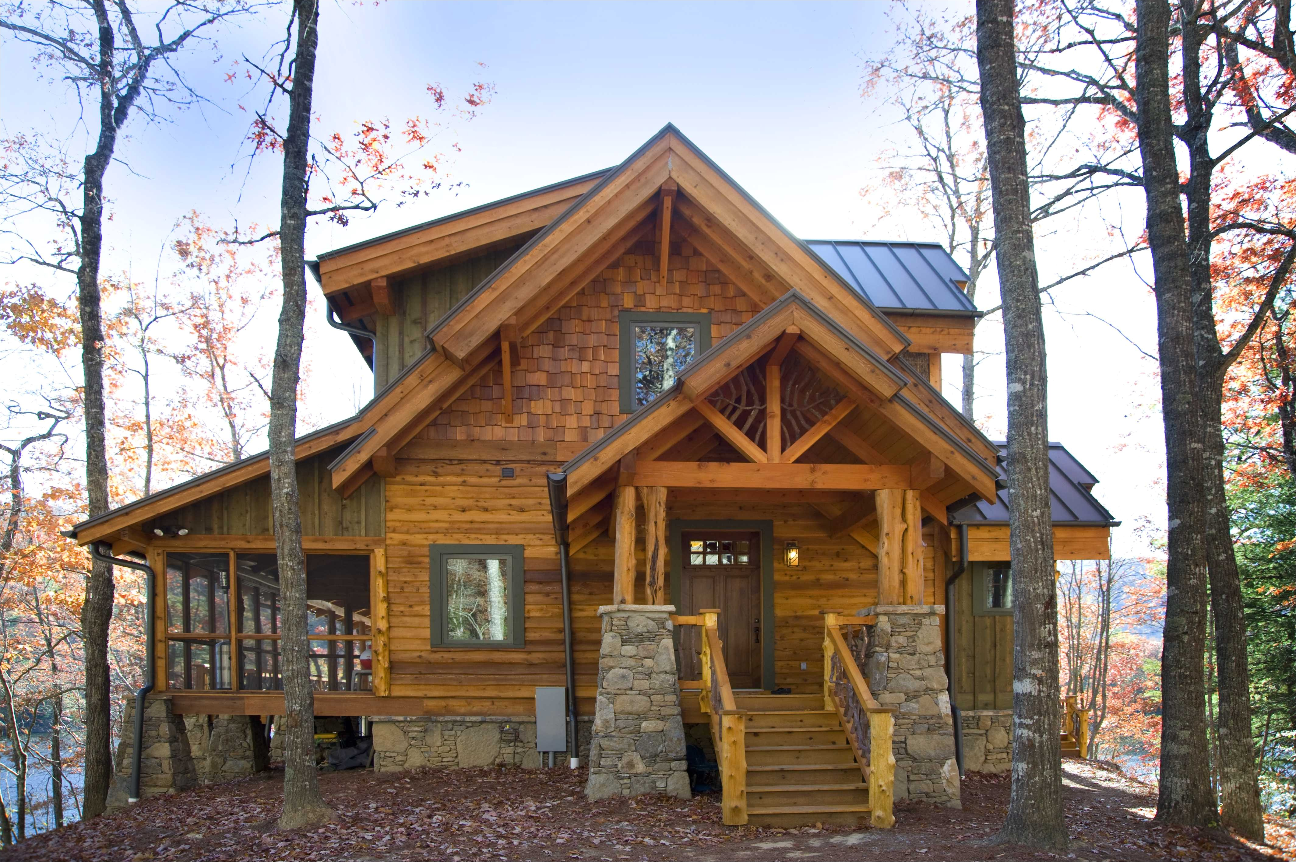 mountain house plans with a view and hybrid mountain homes are all natural
