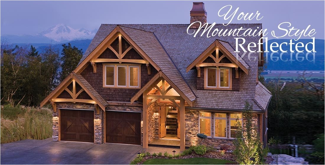 mountain lodge style house plans
