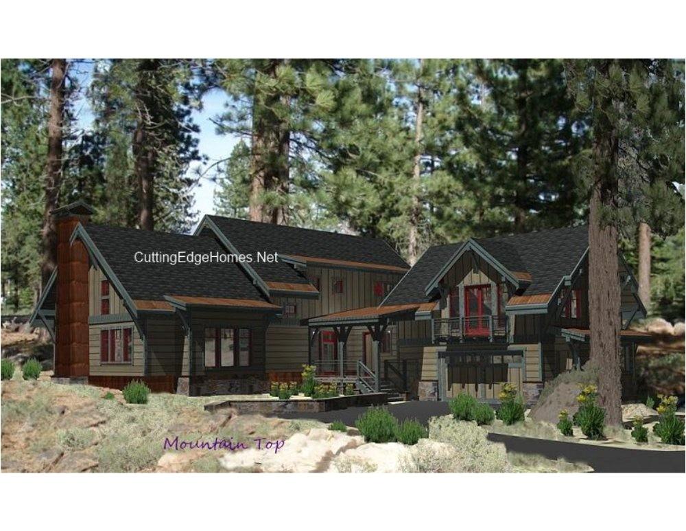 mountain top house plans