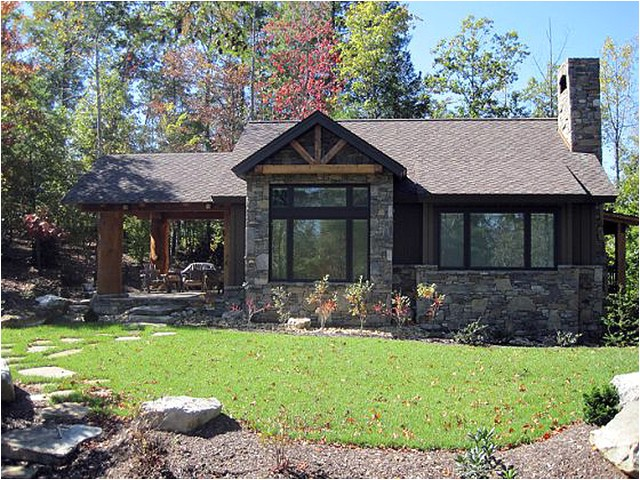 architectural designs house plan 11529kn 681 sq ft vacation escape rustic exterior denver