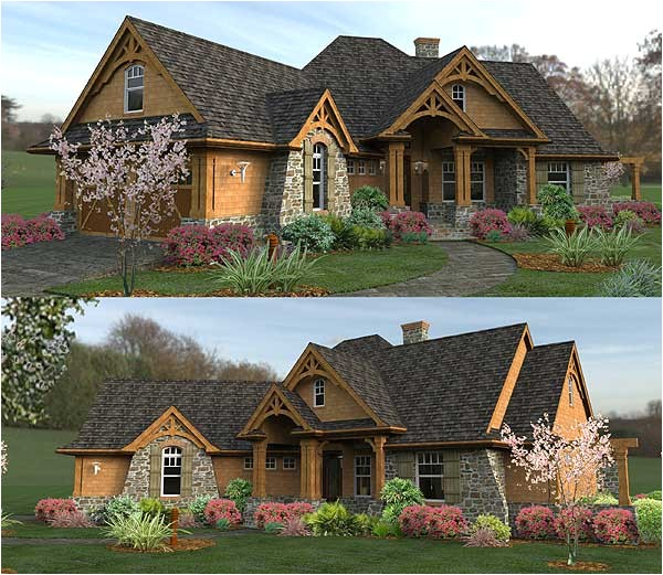 oh my gorgeous i wish plan w16800wg craftsman mountain cottage corner lot ranch vacation house plans home designs oh my i love this house need to see the inside
