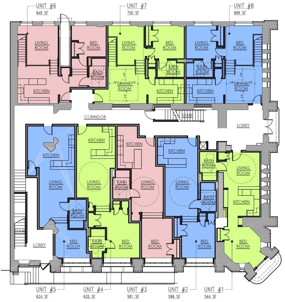 modern multi family house plans luxury multi family house plans