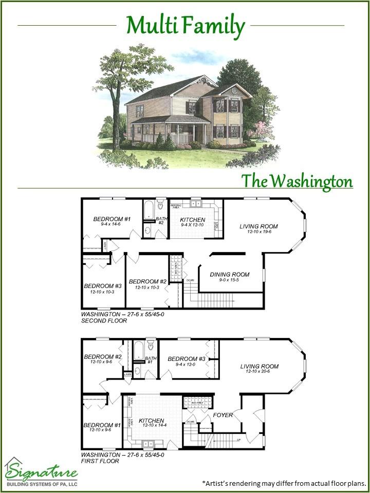 multi family homes plans