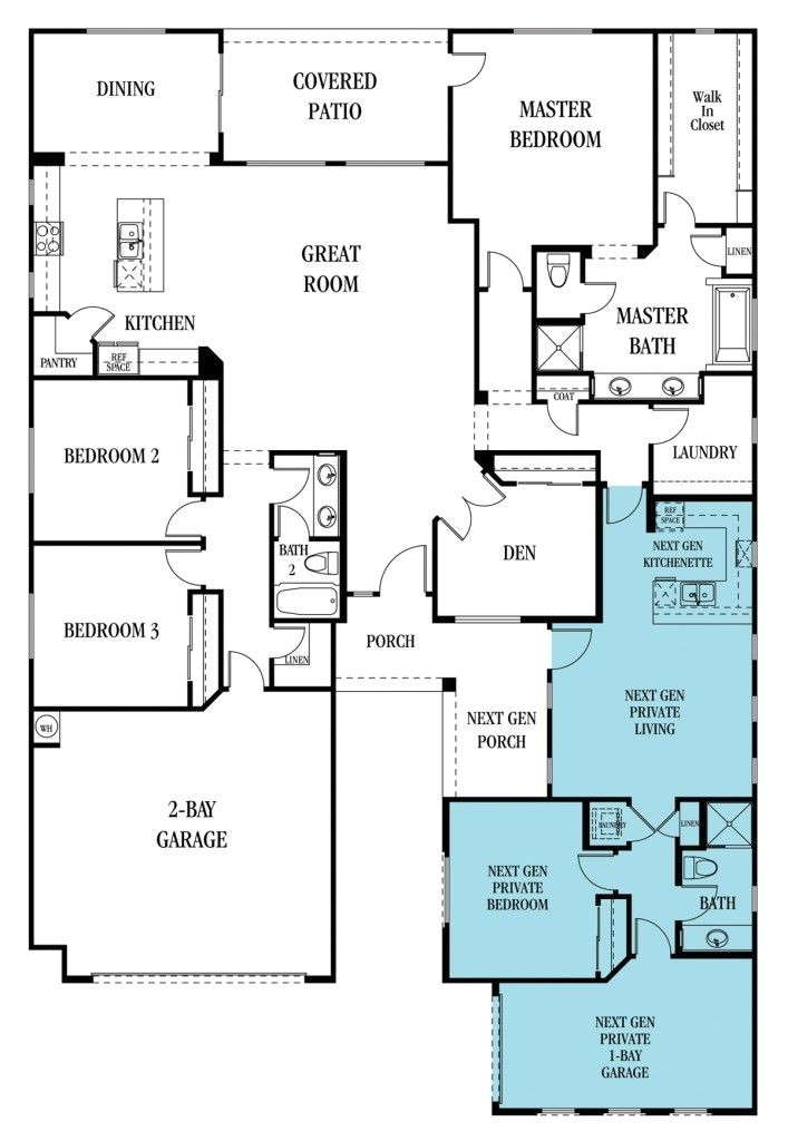 multigenerational living floor plan ideas to coexist with multiple families under one roof lennar sp