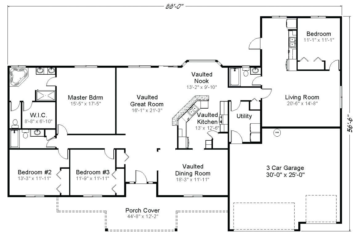multi living house plans