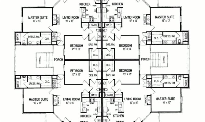 awesome 13 images multiplex house plans