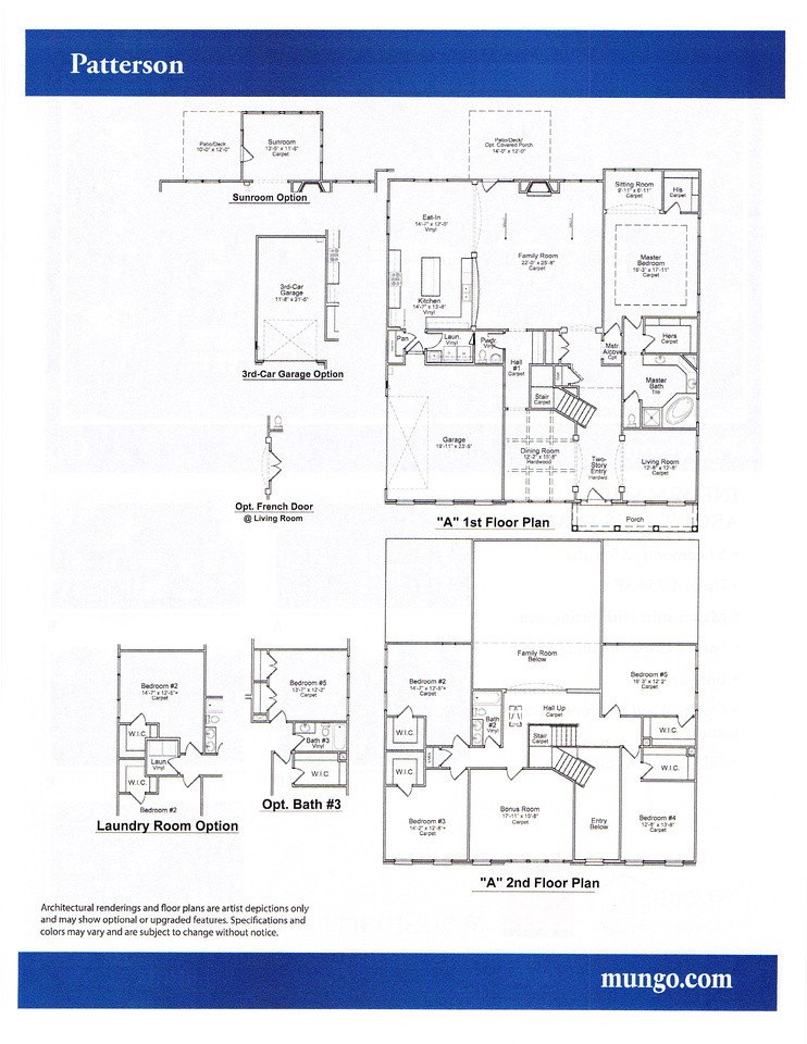 mungo homes floor plans greenville
