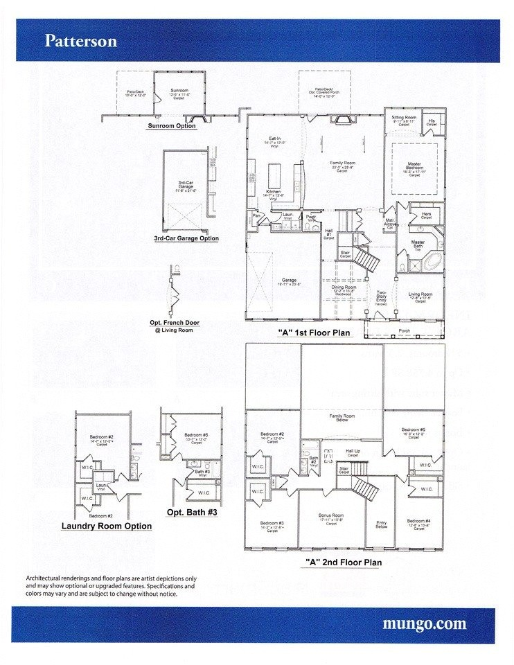 Mungo Homes Patterson Floor Plan Inspirational Mungo Homes Floor Plans New Home Plans Design