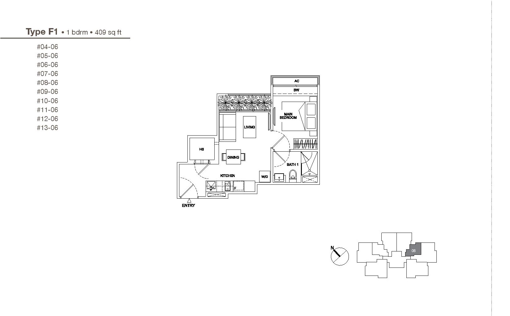 regent residences floor plan