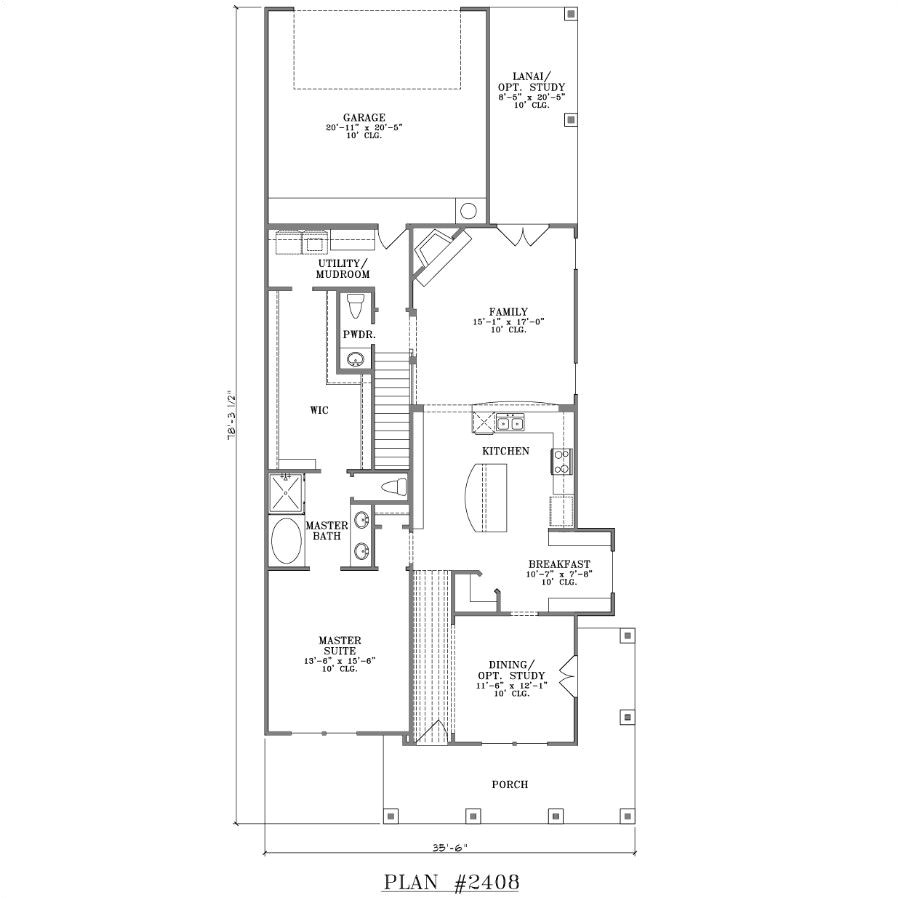 Narrow House Plans with Garage In Back Narrow House Plans with Front Garage 2017 House Plans