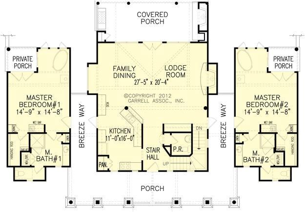 mountain plan 1873 square feet 2 bedrooms 2 5 bathrooms