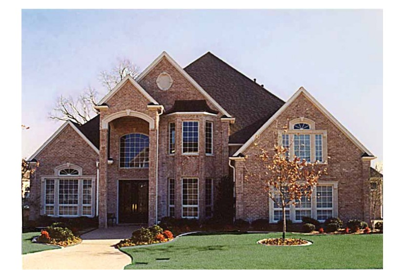 lovely new american house plans 3 new american style brick house