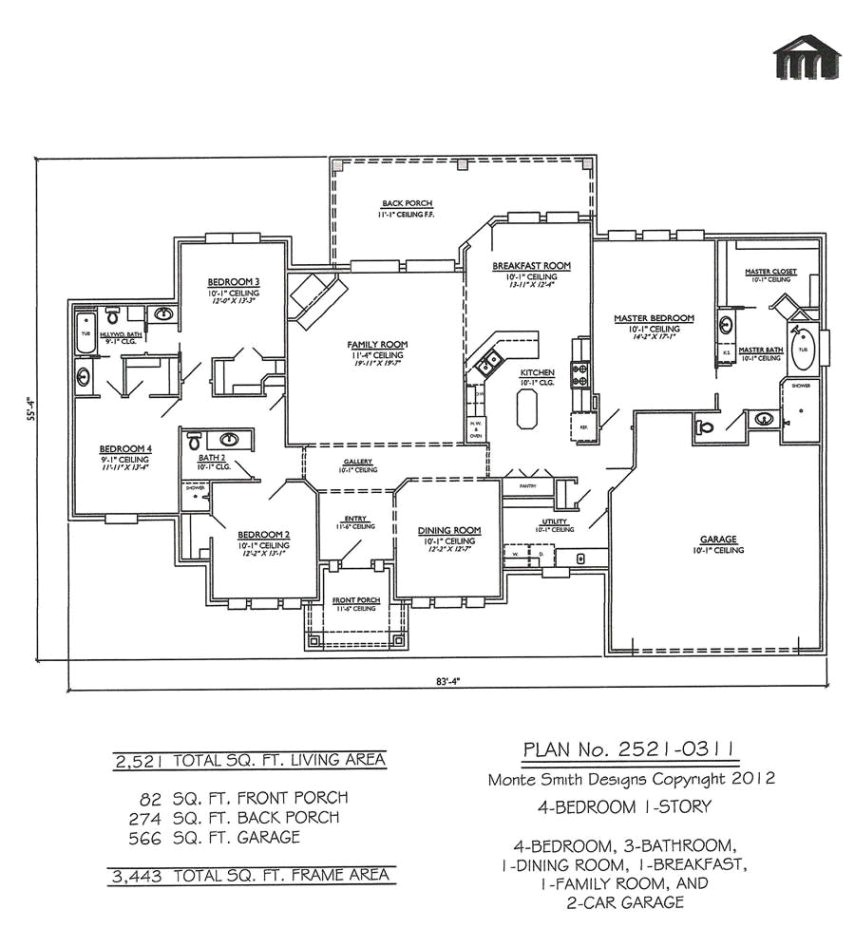 simple 80 home construction design