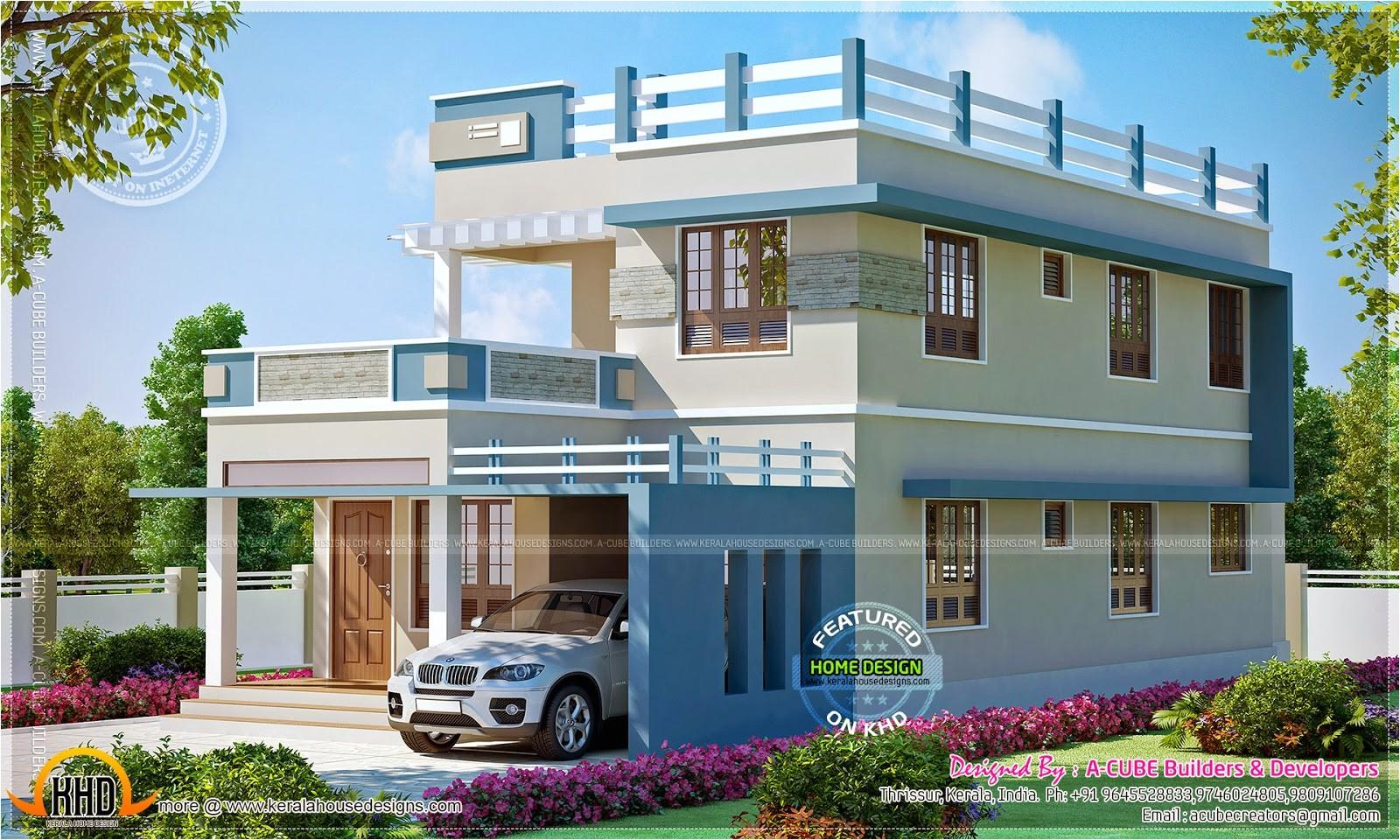 2260 square feet new home design