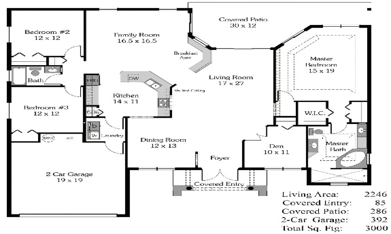 33ec2b9a73d131d8 4 bedroom house plans open floor plan 4 bedroom open house plans