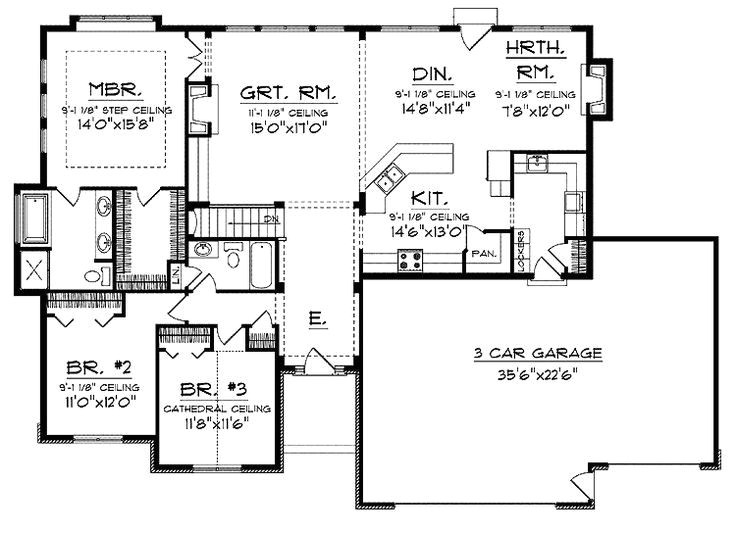 open floor plans for ranch homes awesome best 25 ranch floor plans ideas on pinterest