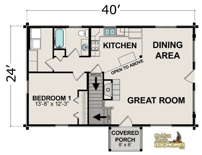 log cabins floor plans and prices