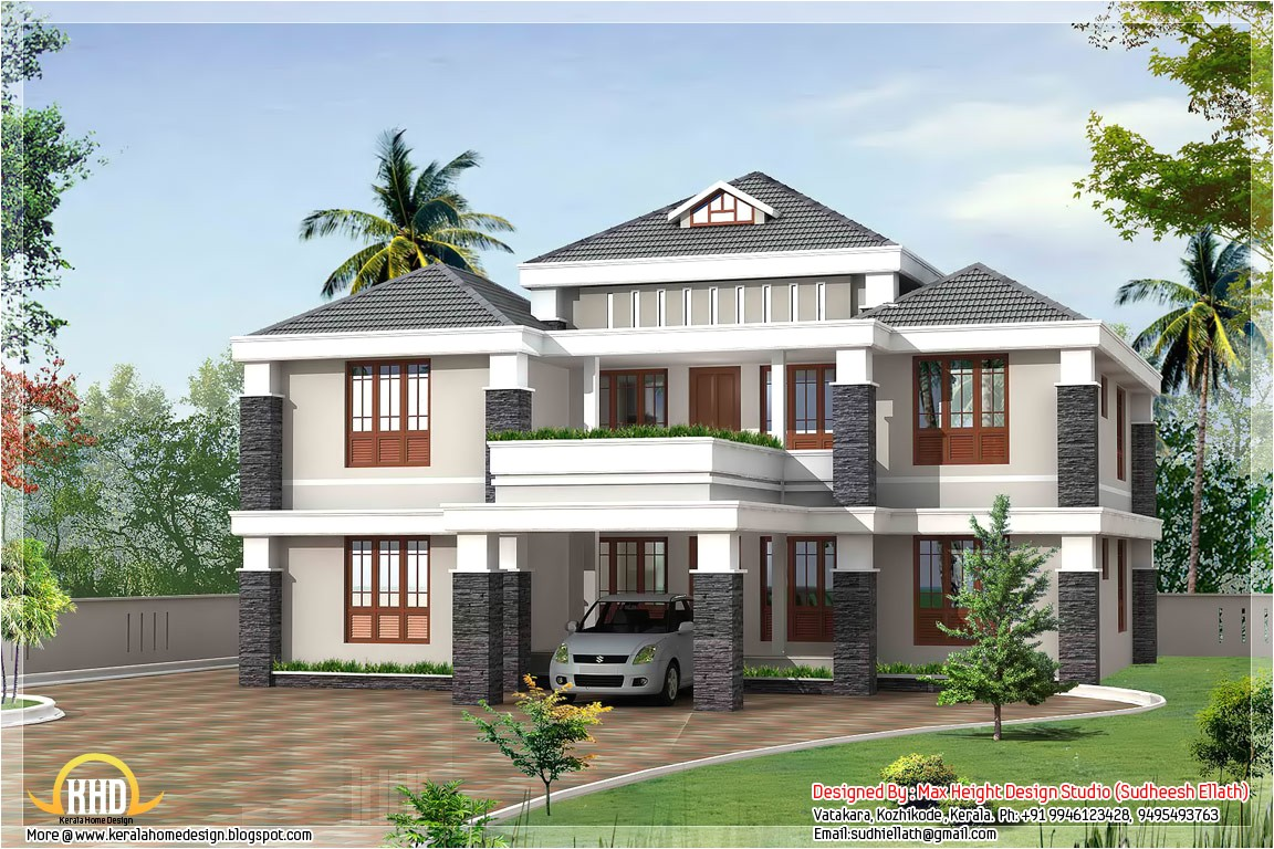 exciting new house designs in kerala