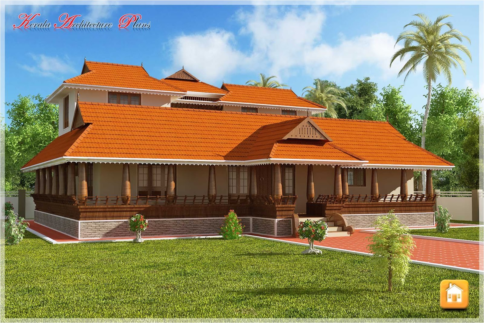 new house models kerala traditional nalukettu plan