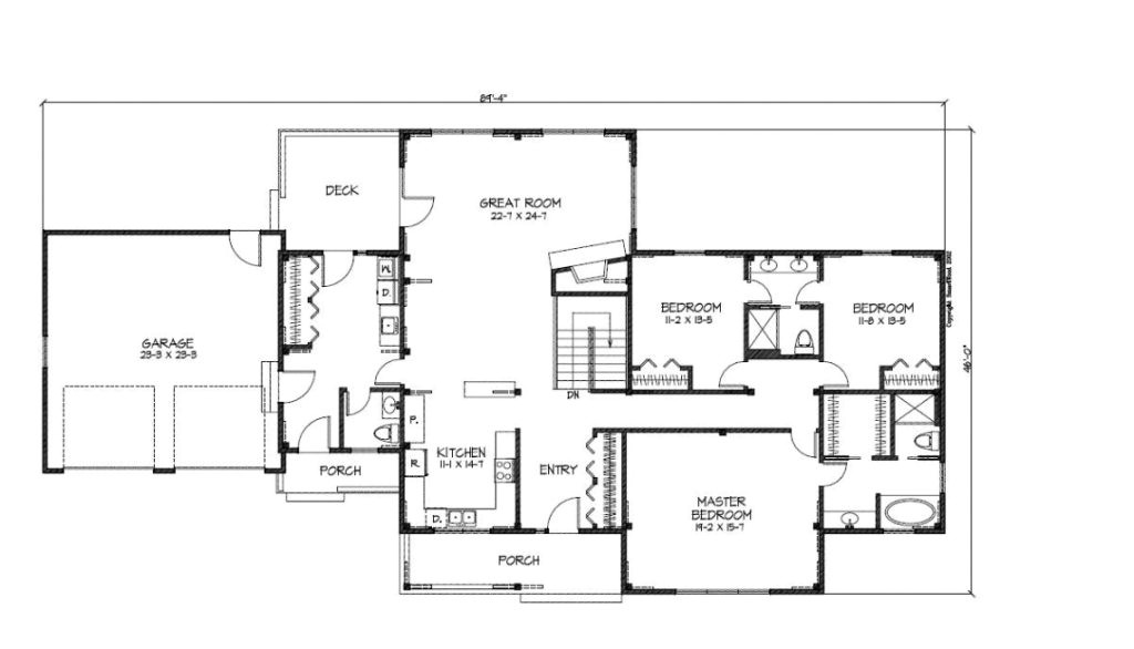 cr2880 main floor plan unique ranch house plans awesome house pertaining to new home plans ranch style