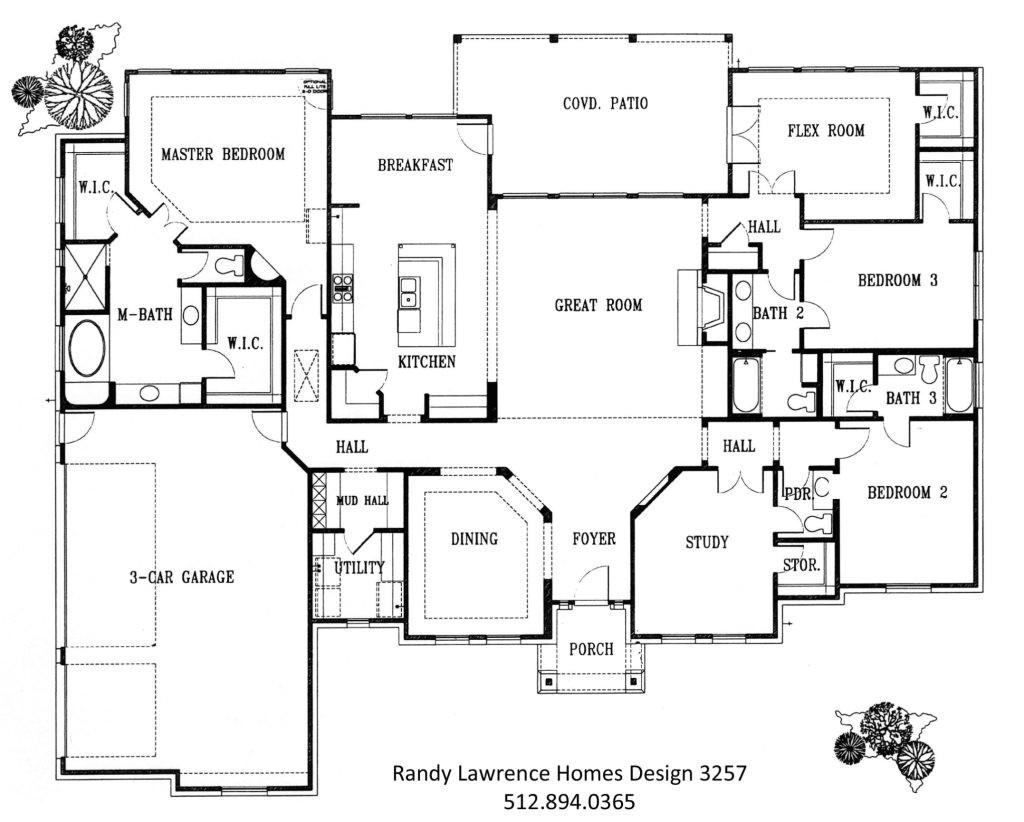 unique new homes floor plans