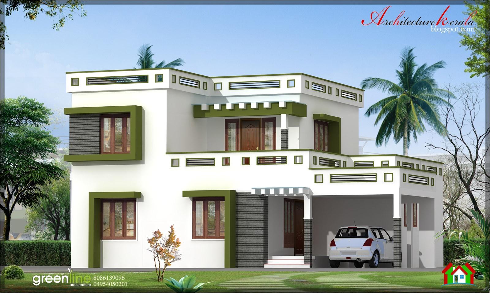 3 bhk new modern style kerala home