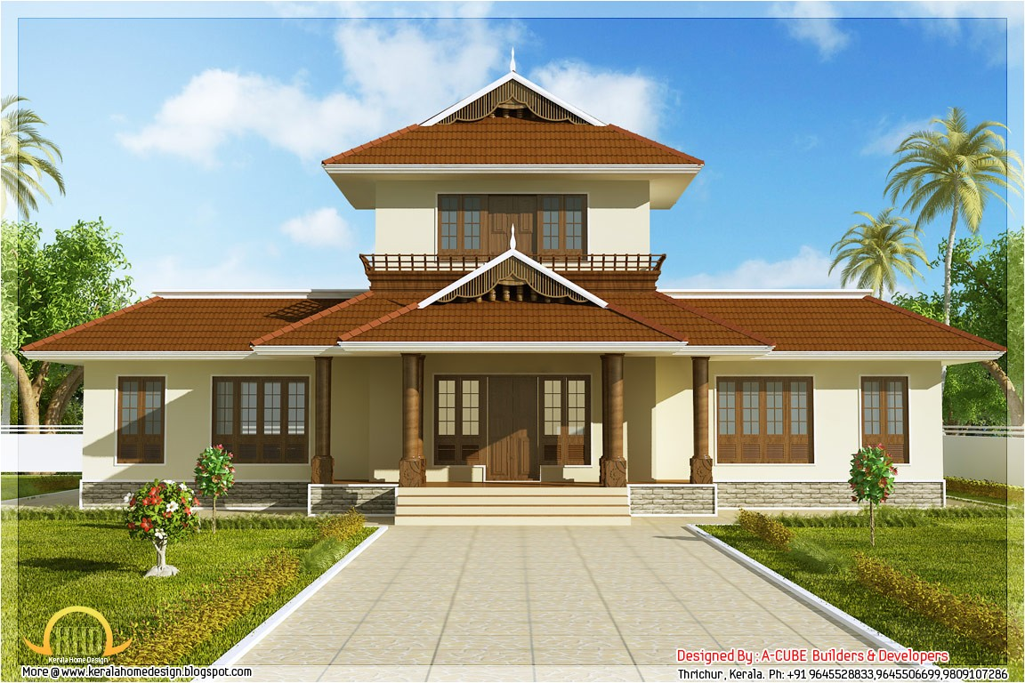 home elevation 1947 sq ft kerala home design and floor plans as classic house design