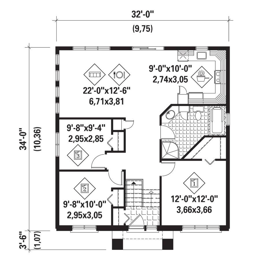 new house harfang