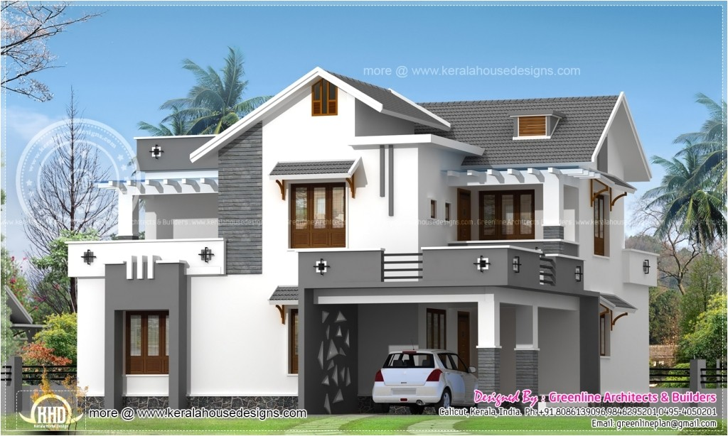 new model house plans india