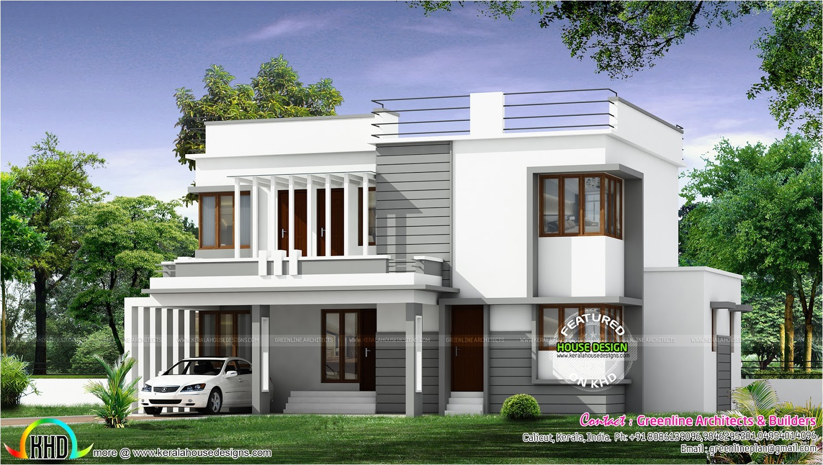 New Modern Home Plans New Modern House Architecture Kerala Home Design and