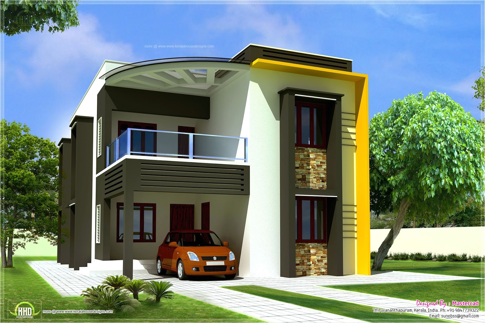 modern contemporary home elevations kerala home design and floor as home design styles