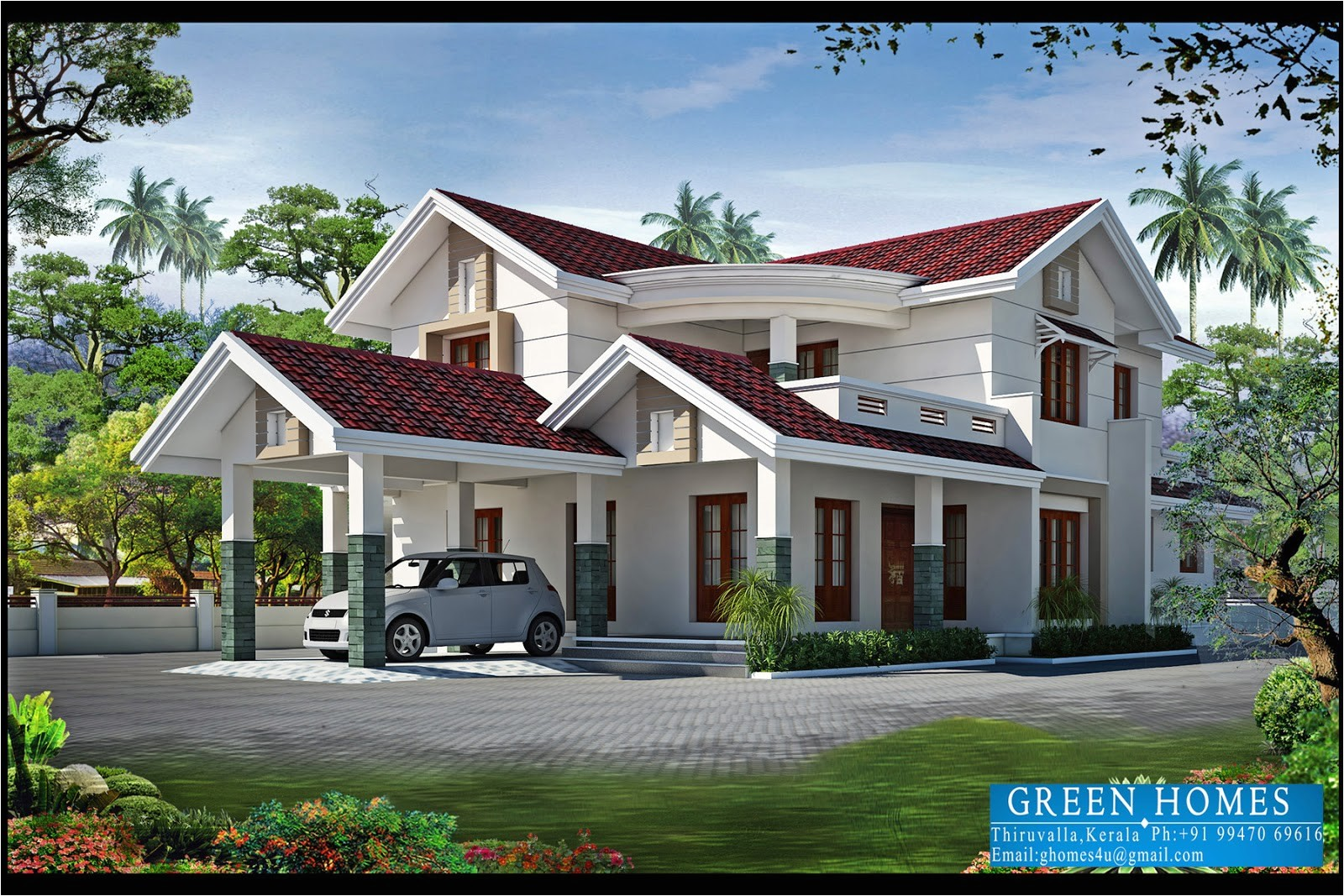 4bhk kerala home design 2550 sqfeet