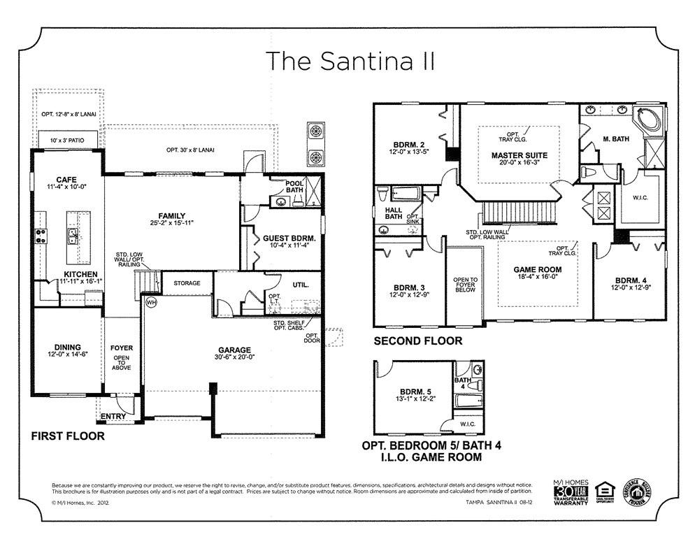 41171 mi homes floor plans