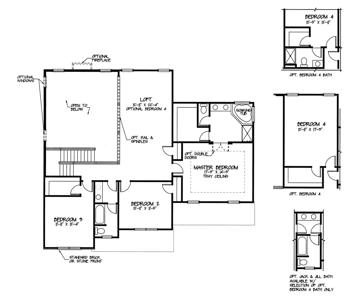 new tradition homes floor plans
