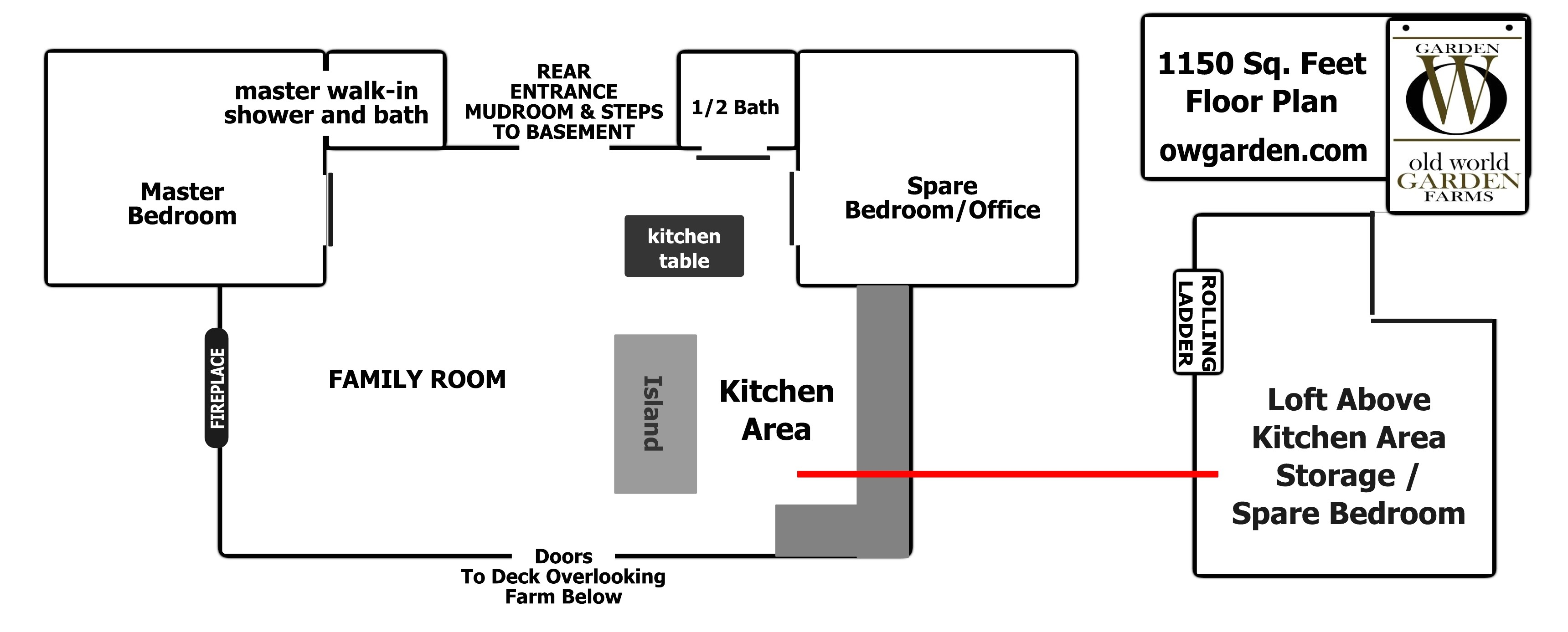 clutter family house floor plan