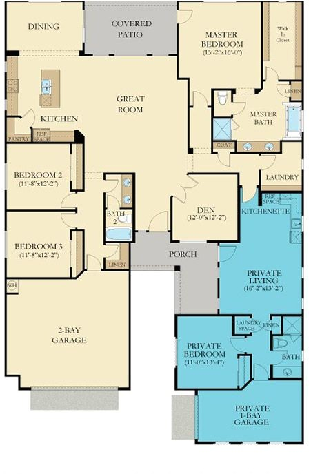 Next Generation House Plans Lennar Next Gen the Home within A Home Floor Plans