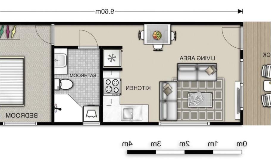 1 bedroom granny flat floor plans
