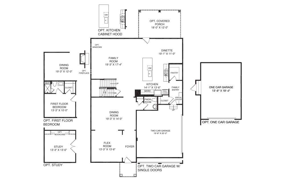 nv homes floor plans