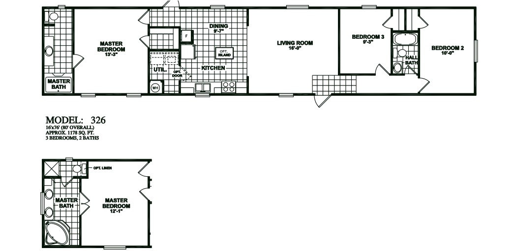 oak creek floor plans photos