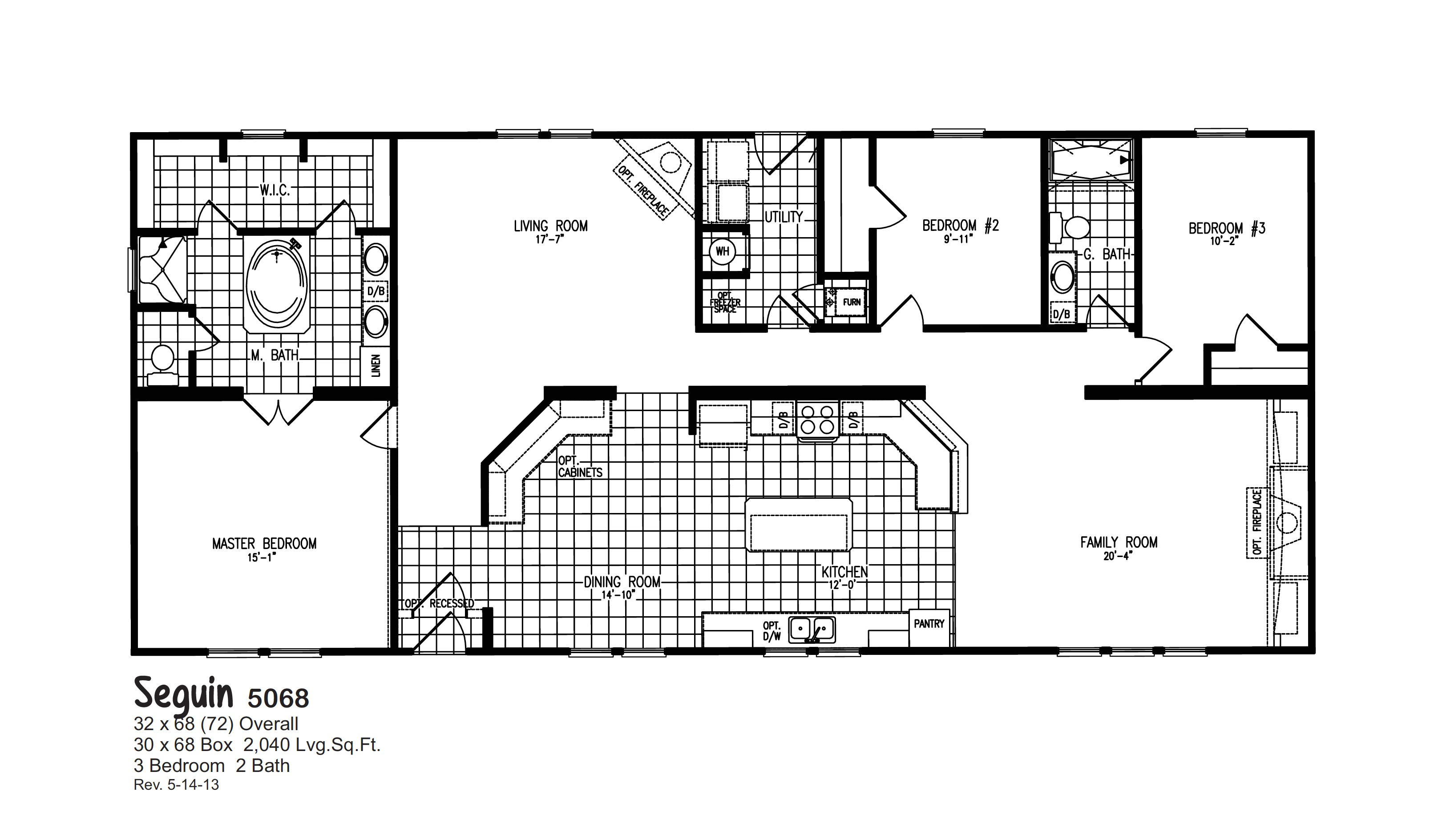 oak creek homes floor plans