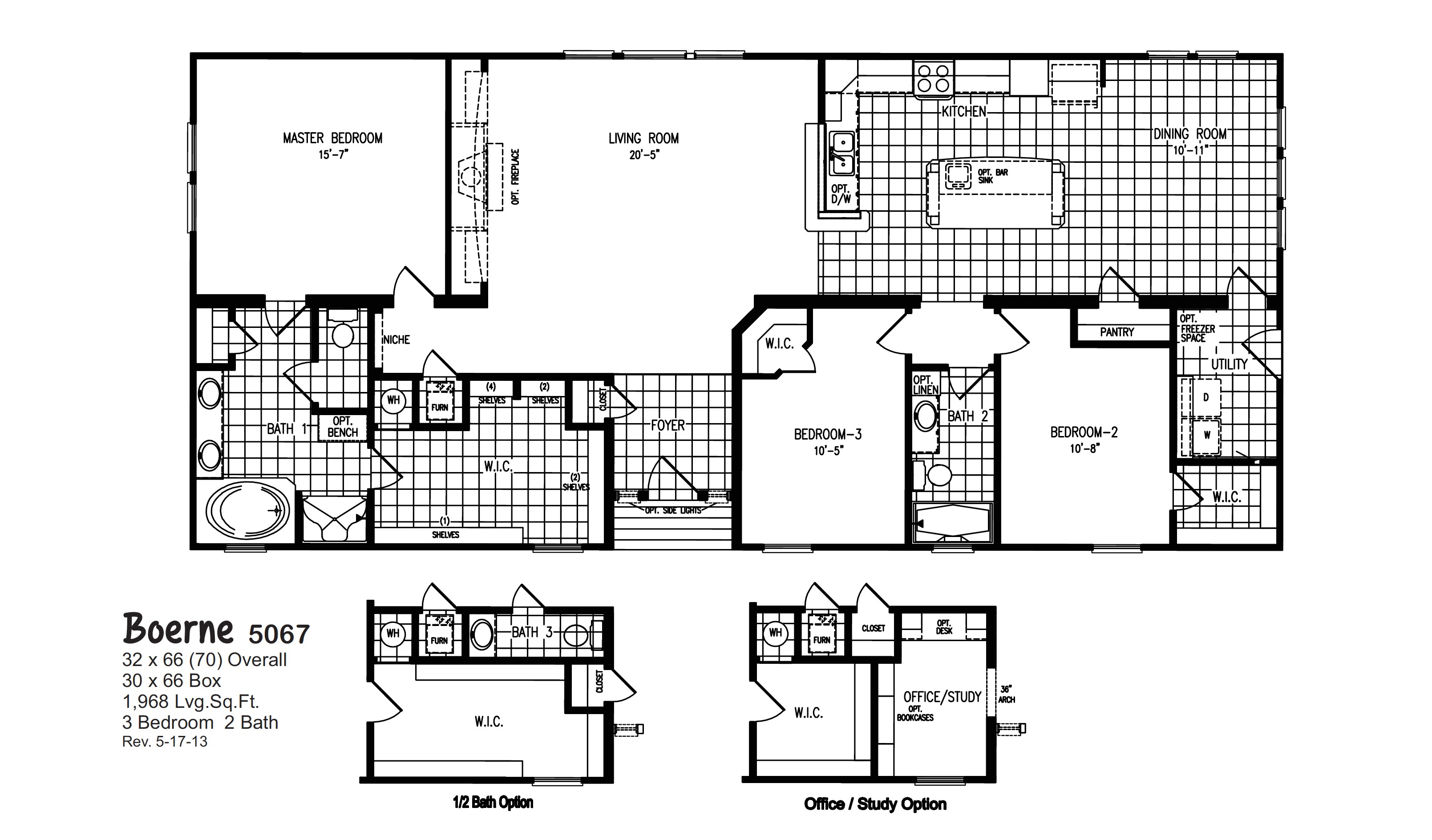 oak creek mobile homes floor plans