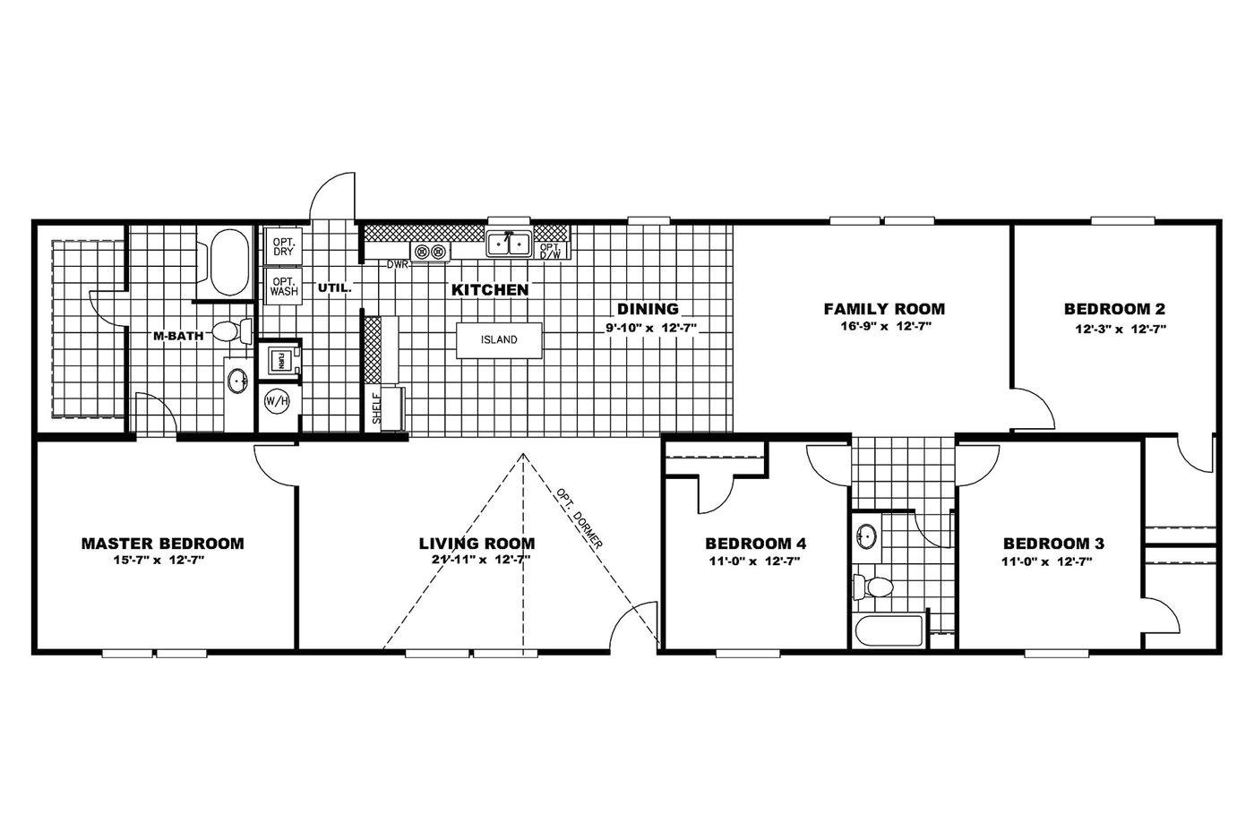 oakwood homes floor plans manufactured